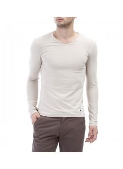 Tee-shirt uni col v