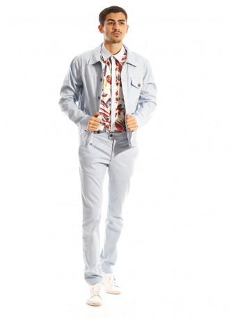 Blouson en faux jean