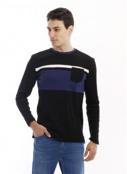 Tee-shirt maille à manches longues homme