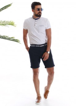 Polo maille homme