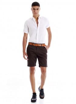 Chemise homme à manches courtes