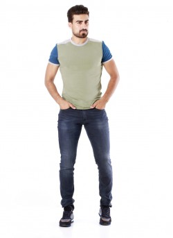 Tee-shirt col rond homme