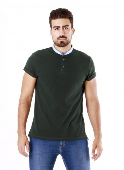 Polo maille manches courtes homme