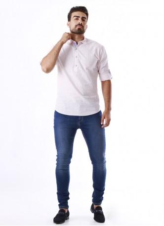 Tunique manches longues homme